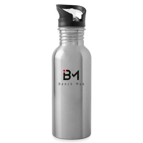 Bench Mob Logo (black) - Water Bottle