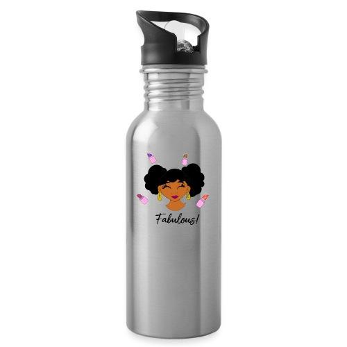 fabulous lipstick - Water Bottle