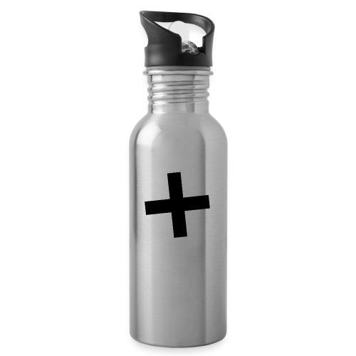 Plus Brandmark Black - Water Bottle