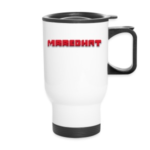 MrRedHat Plain Logo - Travel Mug