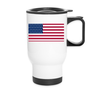 usa flag - Travel Mug