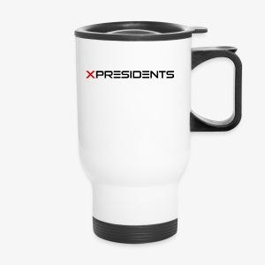 XP | Full Black Logo - Travel Mug