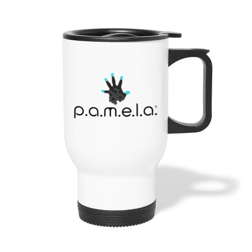 P.A.M.E.L.A. Logo Black - Travel Mug