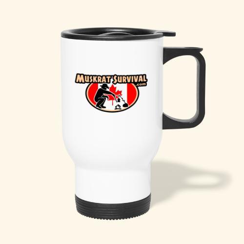 Muskrat Badge 2020 - Travel Mug