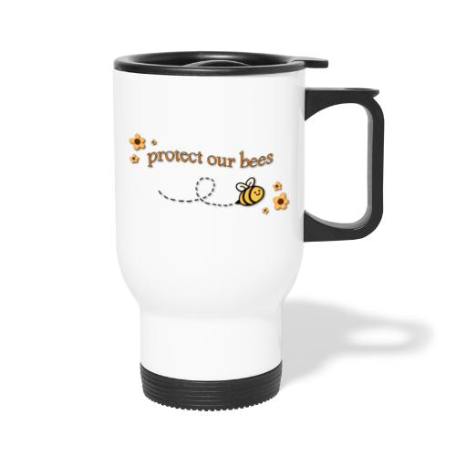 save the bees - Travel Mug