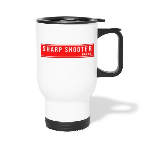 SHARP SHOOTER BRAND 1 - Travel Mug with Handle