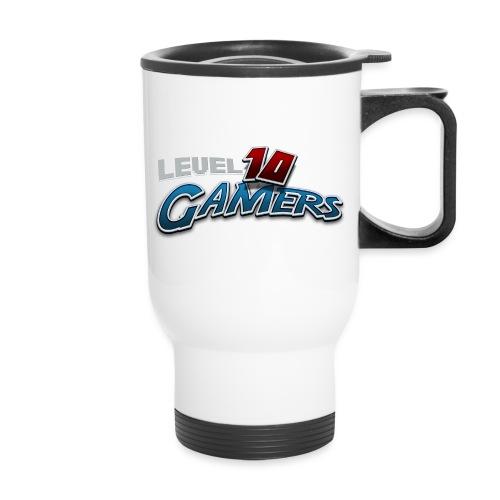 Level10Gamers Logo - Travel Mug with Handle