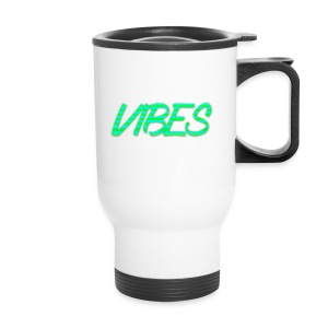 GREEN AND BLUE LOGO - Travel Mug