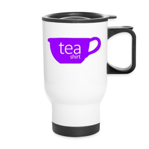 Tea Shirt Simple But Purple - Travel Mug