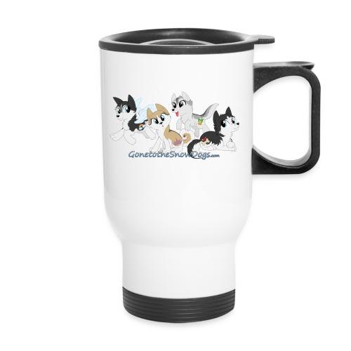 MY LITTLE HUSKYS - Travel Mug