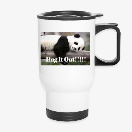 Hug It out Panda Merch - Travel Mug