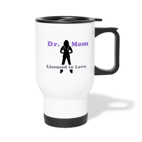 drmom png - Travel Mug
