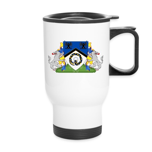 Kingdom of Hrafnarfjall Coat of Arms - Travel Mug