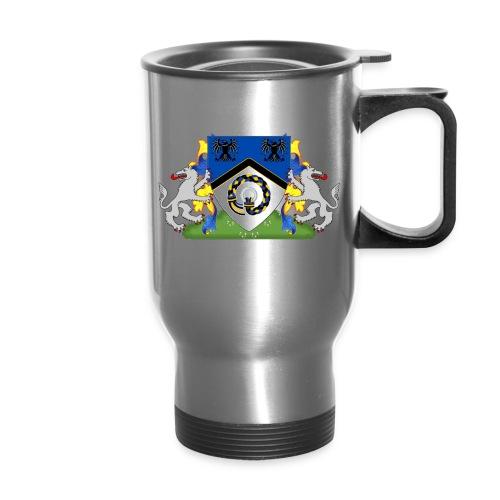 Kingdom of Hrafnarfjall Coat of Arms - Travel Mug