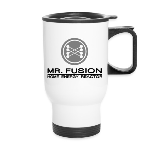 mr fusion1 - Travel Mug