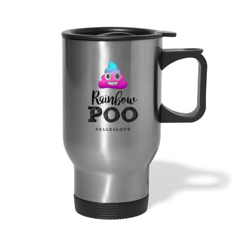 Rainbow Poo - Travel Mug