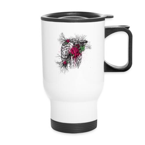 Skeleton Rose - Travel Mug