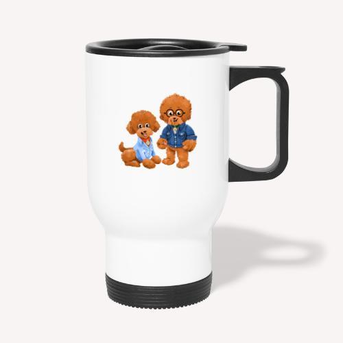 Agador and Fred - Travel Mug