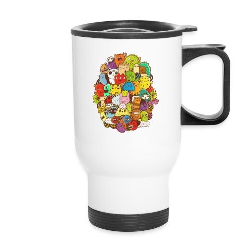 Doodle for a poodle - Travel Mug