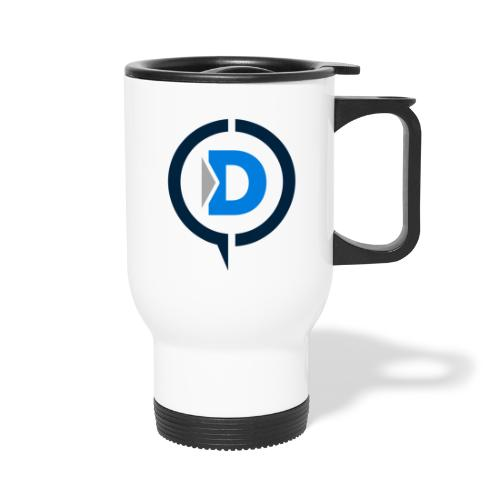 QuickDrop - Travel Mug with Handle
