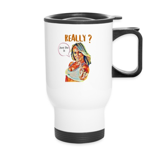 Melissa Zimmerman fan art - Travel Mug