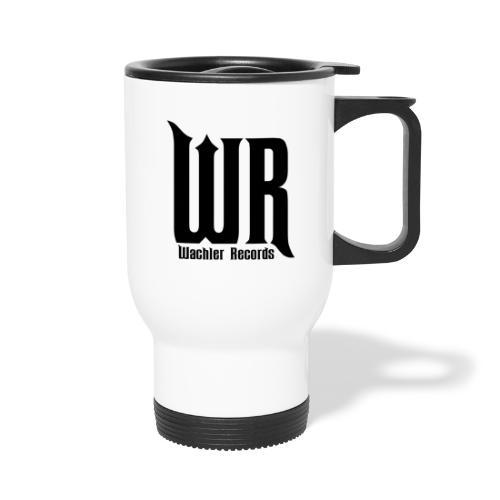 Wachler Records Dark Logo - Travel Mug