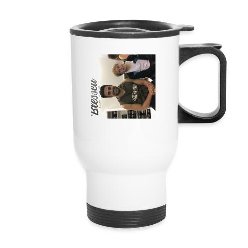 me with gorge janko - Travel Mug