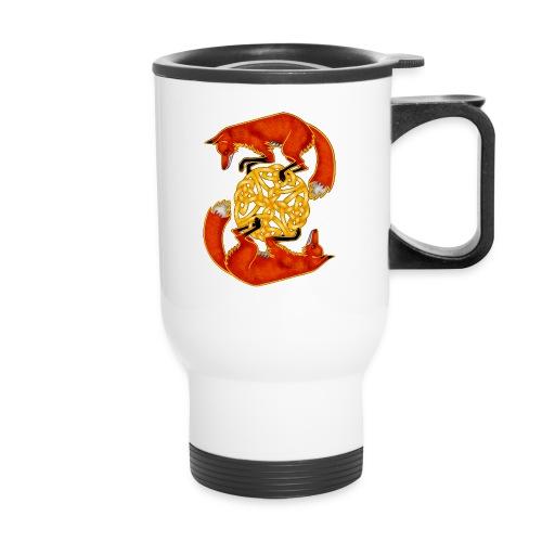 Circling Foxes - Travel Mug