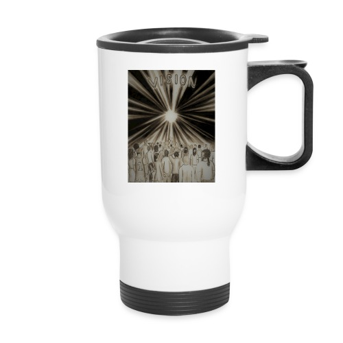 Black_and_White_Vision2 - Travel Mug