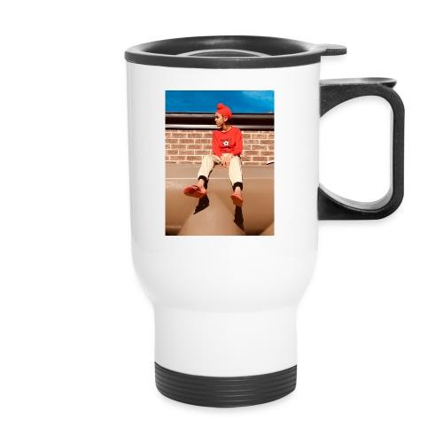Flamin_Danger - Travel Mug