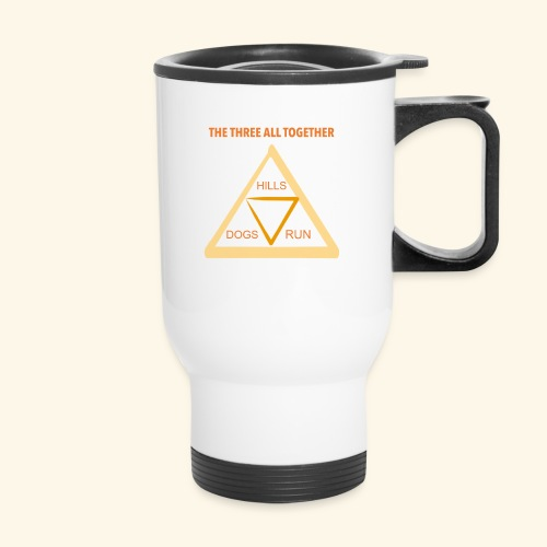 Run4Dogs Triangle - Travel Mug