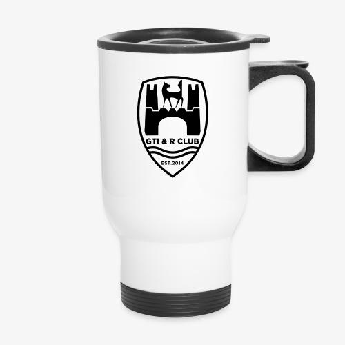 GTI & R Club Logo Black - Travel Mug