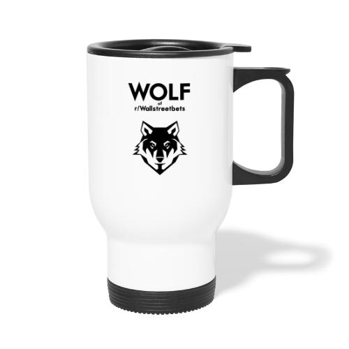 Wolf of Wallstreetbets - Travel Mug with Handle