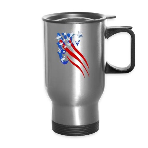 Sweeping Old Glory - Travel Mug