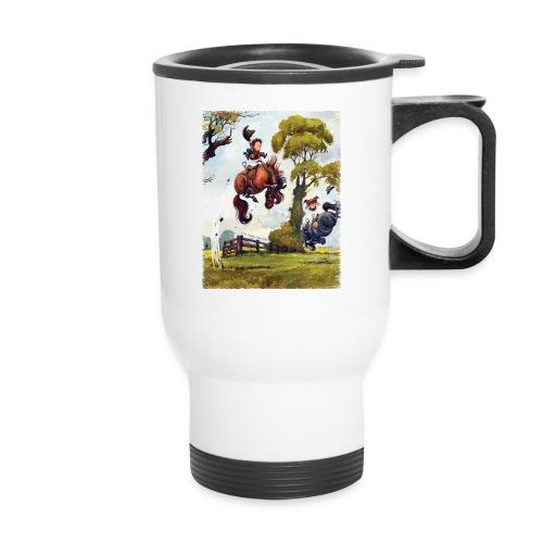 PonyRodeo Thelwell Cartoon - Travel Mug