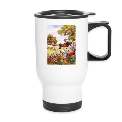 PonyTournament Thelwell Cartoon - Travel Mug