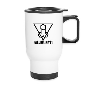 Falluminati on your phone by Umberto Lizard - Travel Mug