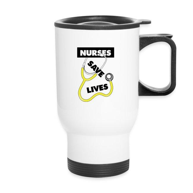 Nurses save lives yellow