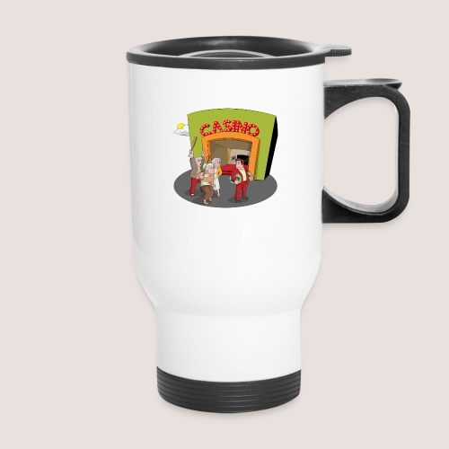 PENSIONERS CASINO REVENGE - Travel Mug