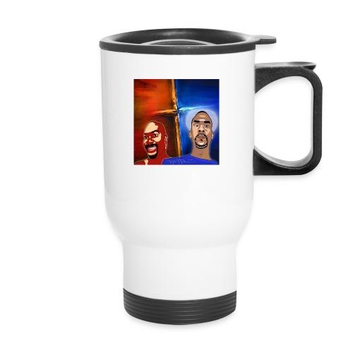 pretty tony galaxy 7 edge case - Travel Mug