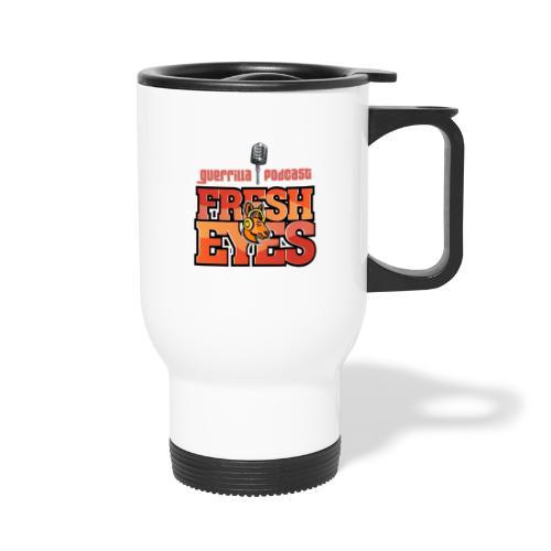 fresh eyes Merch - Travel Mug with Handle