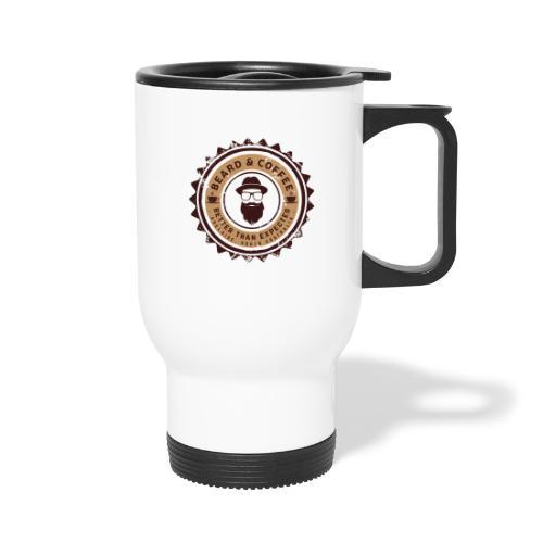 Beard and Coffee Merch - Travel Mug with Handle