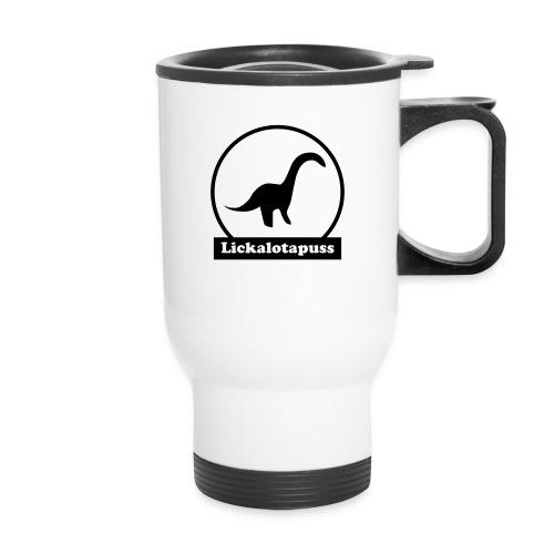 Lickalotapuss - Travel Mug with Handle