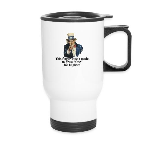 Uncle Sam - Finger - Travel Mug with Handle