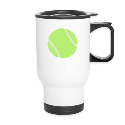 tennis ball - Travel Mug