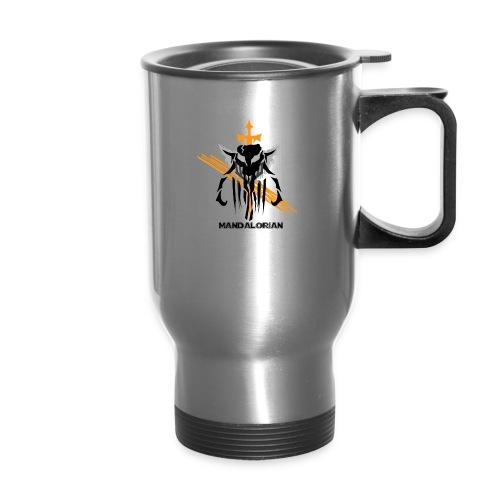 Mandalorian Logo - Travel Mug