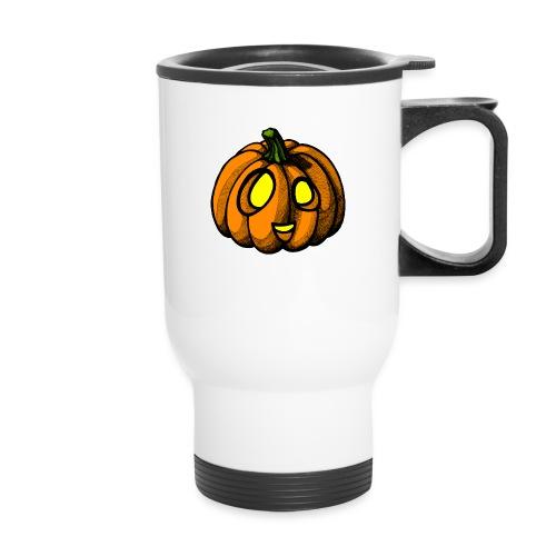 Pumpkin Halloween scribblesirii - Travel Mug