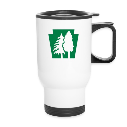 PA Keystone w/trees - Travel Mug