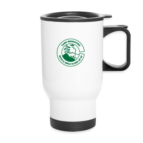 Camp Mendocino Green - Travel Mug
