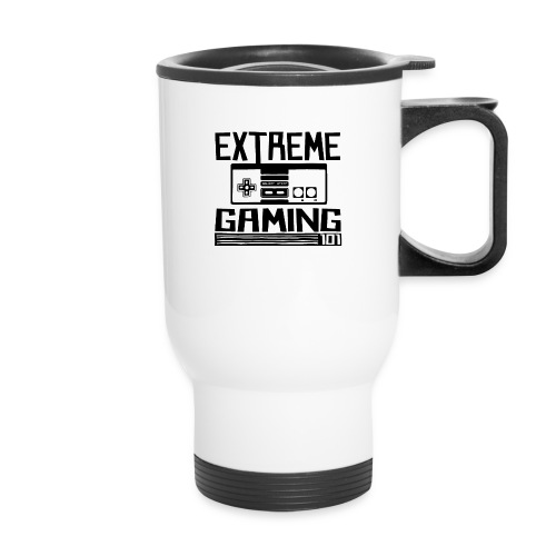 extreme gaming 101 accessories design - Travel Mug